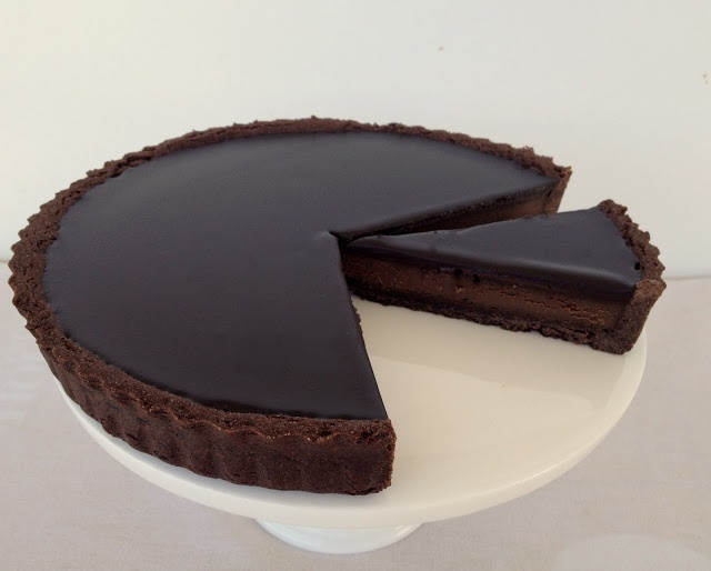 what caroline cooked: Chocolate Tart