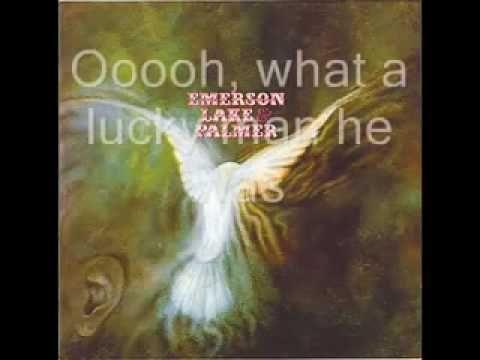 Emerson Lake & Palmer Emerson Lake Palmer - Lucky Man With Lyric