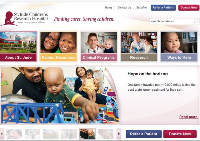 Nonprofit Mission Statements for Today's Donors: St. Jude Children's Research Hospital