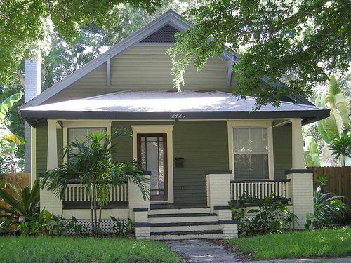 134 best craftsman images on pinterest craftsman for Small house plans florida