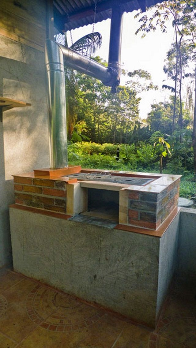 How To Build Your Own DIY Outdoor Wood Stove,Oven, Cooker, Grill and Smoker - iCreatived