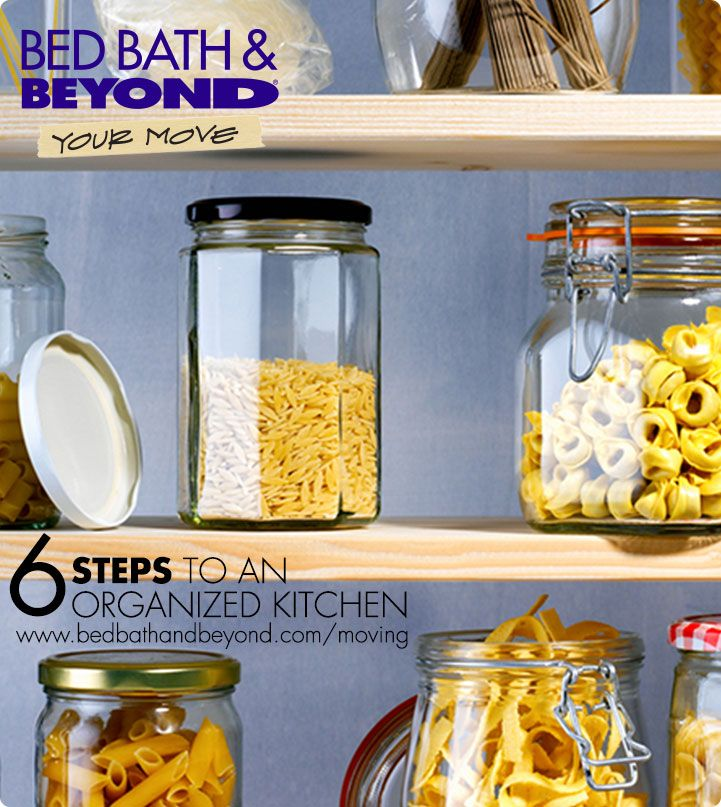 You mastered the moving truck madness and  dominated the unpacking game. Now for the real  challenge: to keep your new kitchen this organized. You're in luck – with these 6 simple steps, you can  get, and keep, your pantry organized for good.