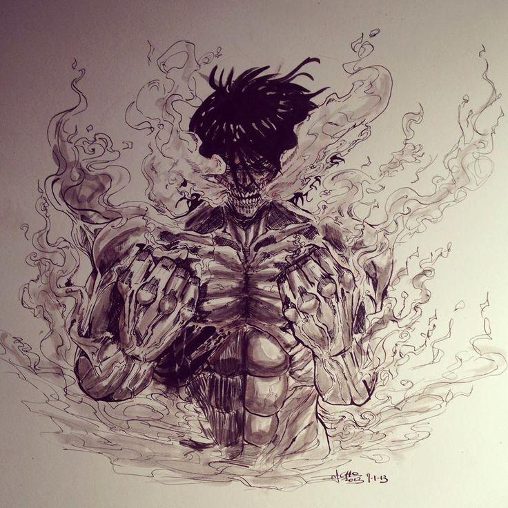 Fan Art of Eren from Attack On Titan