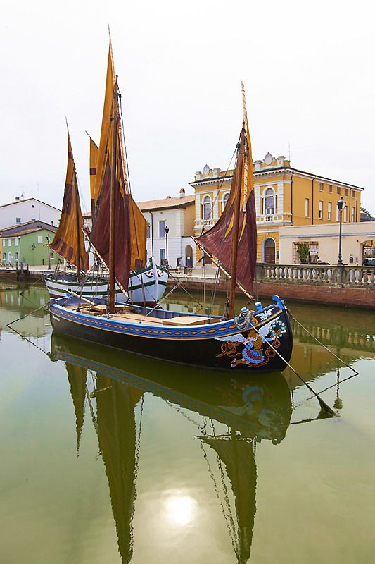 Cesenatico, Emilia-Romagna, Italy. I would love to go to Italy someday!