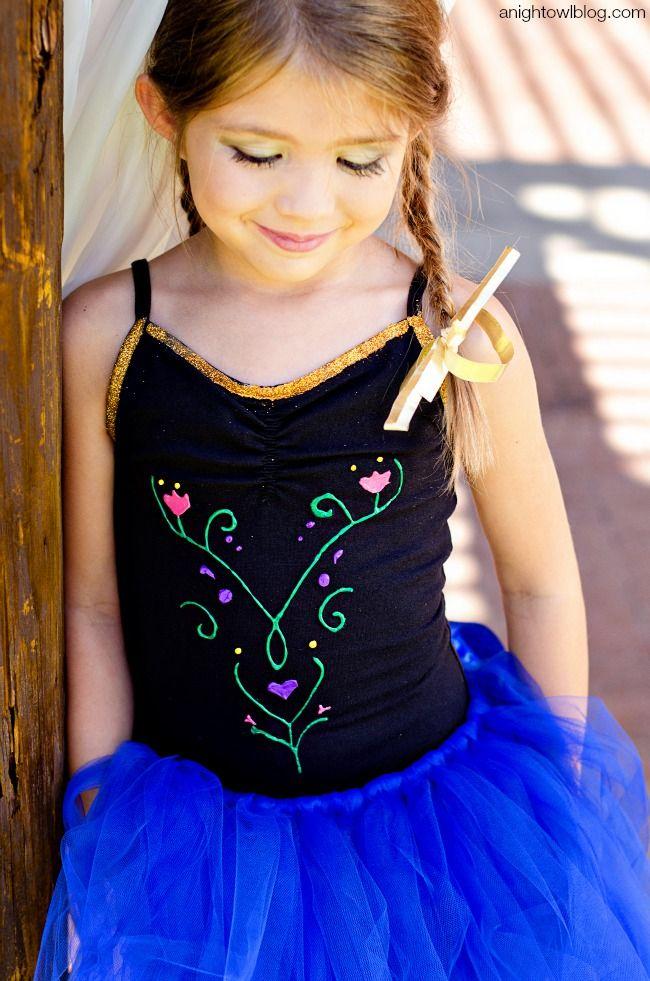 diy frozen halloween costumes frozen halloween costumesanna costume - Halloween Anna Costume