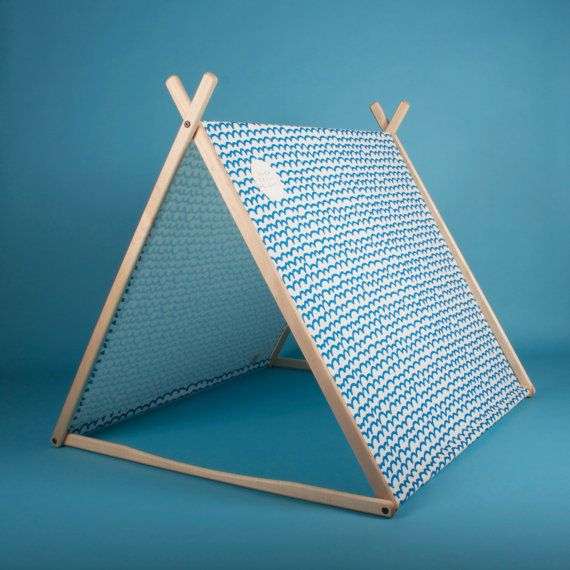 Blue Waves Wonder Tent by SGHstore on Etsy, $299.00