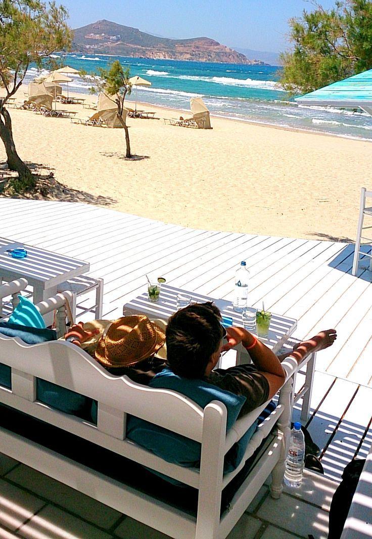 Flisvos Beach Café Naxos Νάξος (Naxos) in Νάξος, Κυκλάδες