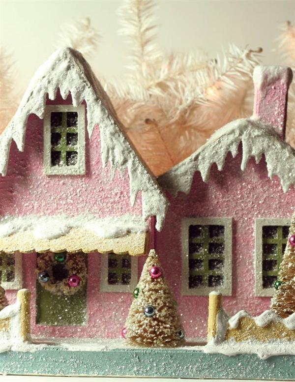 Pink Putz house
