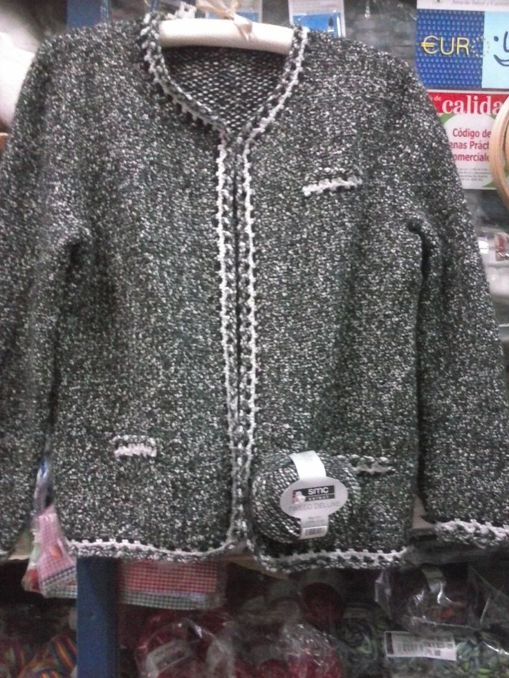 CHAQUETA ESTILO CHANEL,TWEED DE LUXE.SMC
