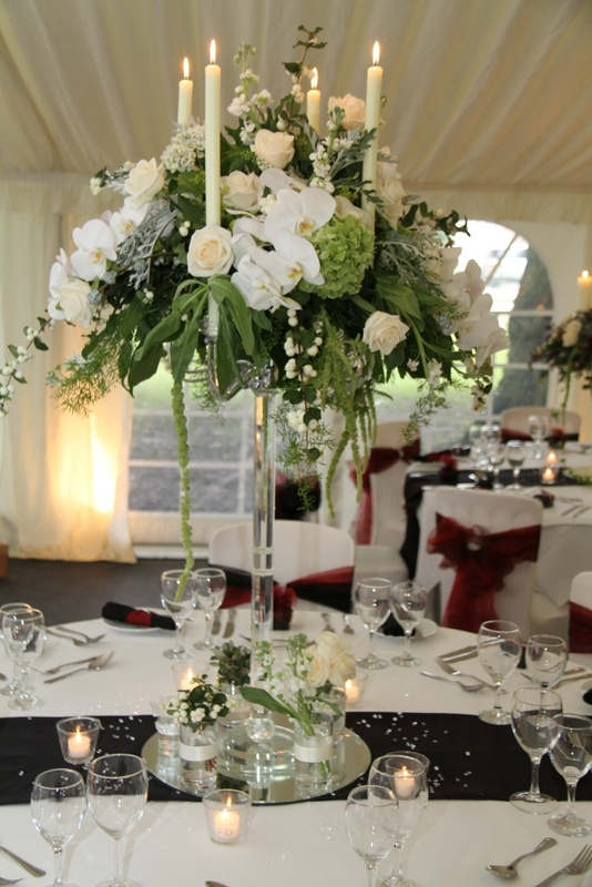 Flower Design Events.....table centrepieces