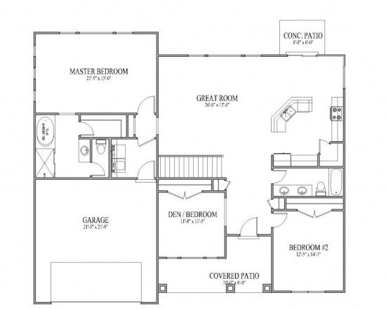 Best 25 rambler house plans ideas on pinterest rambler for Small rambler house plans