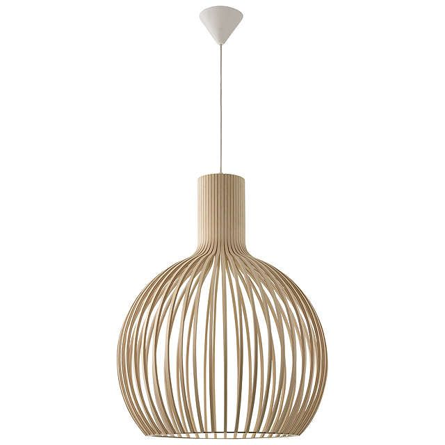 lighting for ceilings. buysecto octo ceiling light birch online at johnlewiscom lighting for ceilings