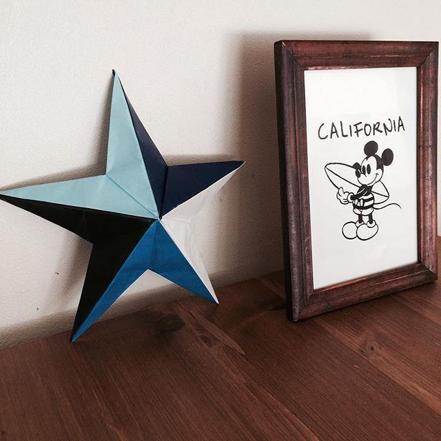 この画像は「100均折り紙で作る!立体的な星「バーンスター」を部屋に飾ると超おしゃれ!」のまとめの39枚目の画像です