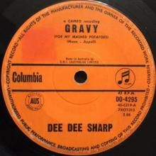 GRAVY (FOR MY MASHED POTATOES) / BABY CAKES ~ DEE DEE SHARP 7 inch single