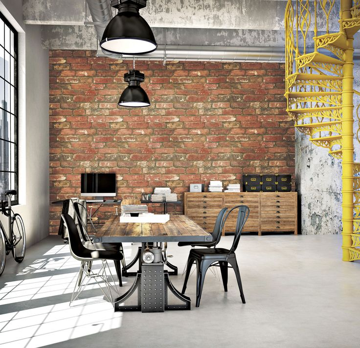 Exposed Brick, Murals And Warehouse Conversion