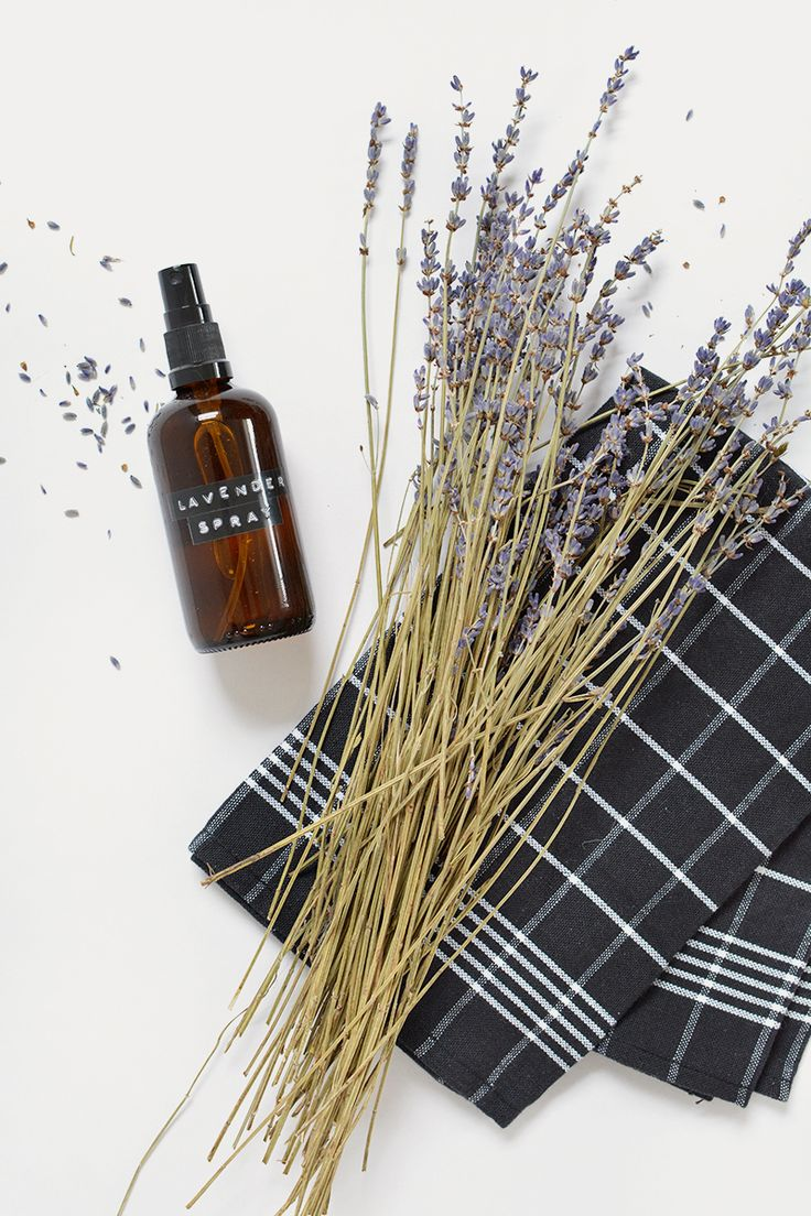 DIY | lavender sleep aid spray