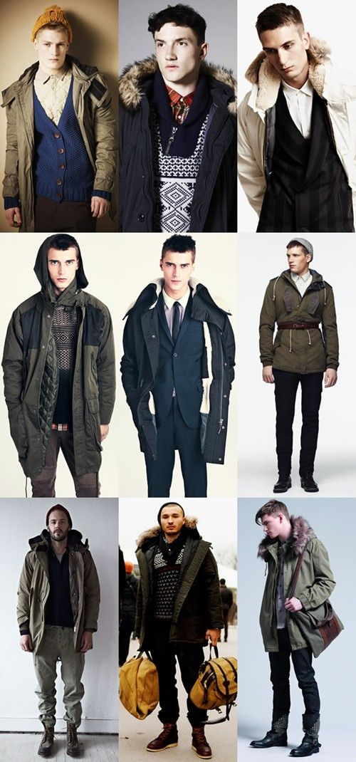 45 best Mens Trend F/W 14 - Parkas images on Pinterest ...