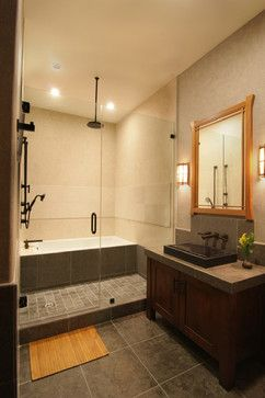 Traditional Japanese - asian - bathroom - los angeles - Konni Tanaka Design Group