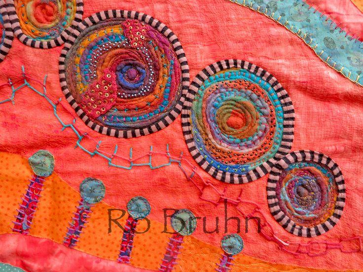 Art and textiles on pinterest