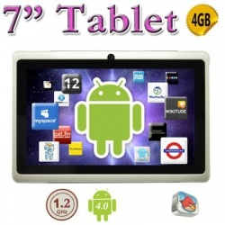 Ultra-Thin WHITE 7inch Tablet PC !