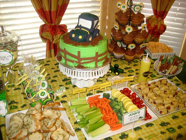 John Deere Party Ideas Recipe hair food DIY