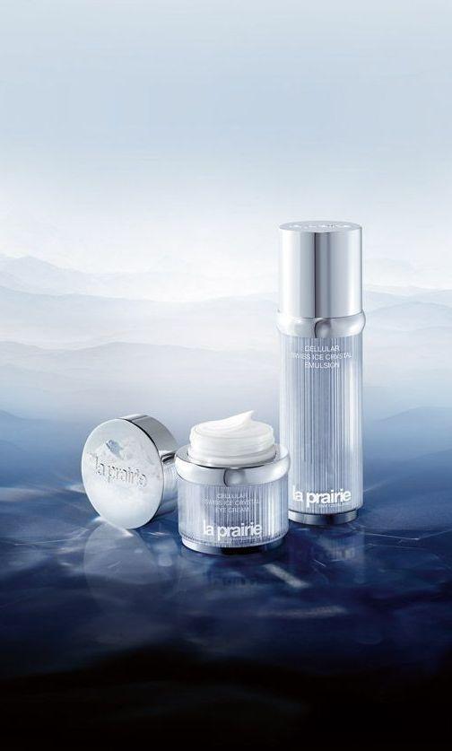 <3Cellular Ice Crystal Emulsion und Eye Cream von La Prairie.