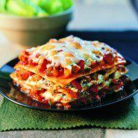 Aux champignons ou aux fruits de mer, la lasagne est le clou du festin!