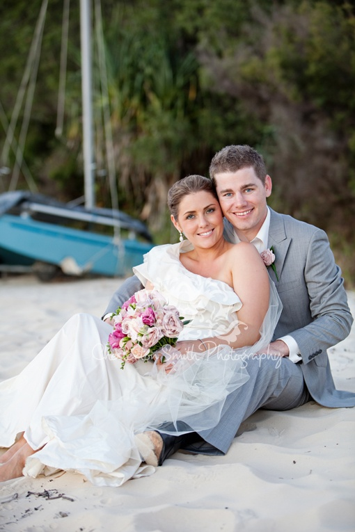 Emma and Andrew's gorgeous Fraser Island Wedding http://www.fraserislandweddings.com.au/
