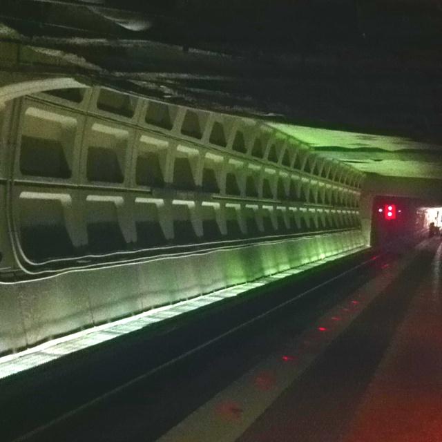 Farragut North Metro Station DC