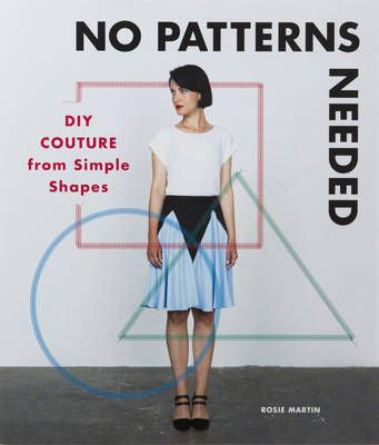 No Patterns Needed: DIY Couture from Simple Shapes #GiftGuide2017