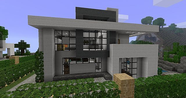 Modern House 3 Beach Town Project Minecraft Project