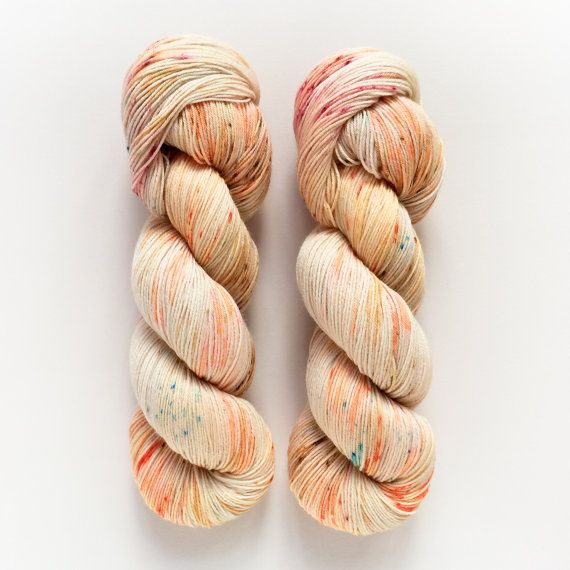 PREORDER Marmalade Hand Dyed Yarn Fingering by DruzyRising