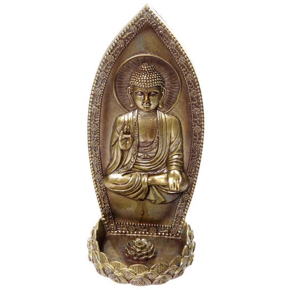 Decorative Thai Buddha Incense Holder Wall by getgiftideas on Etsy