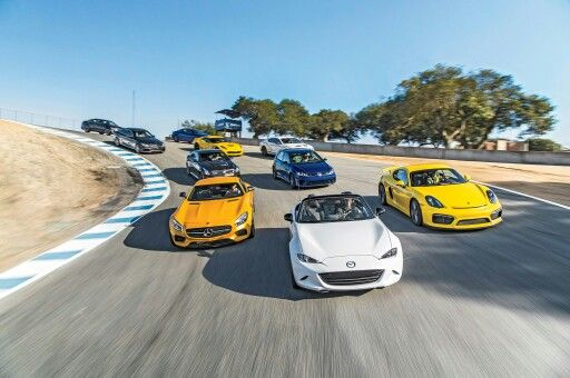 #Mazda #Miata #MX5 Third Place in #MotorTrend 2015 Best Driver Car Competition ahead of #Corvette #Z06, #Golf R, #Lexus #RCF, #Cadillac ATS-V, Cadillac CTS-V, #Bentley GT3-R, #Mercedes AMG-C63 and behind of the second place #Porsche #Cayman #GT4 and winner Mercedes AMG-GTS... The full article at: Motortrend.com #TopMiata