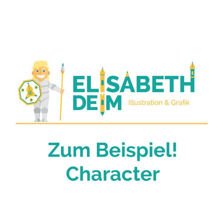 Zum Beispiel! Character Illustration