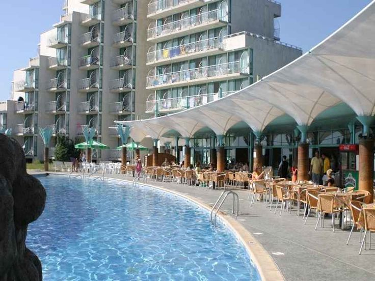 Hotel Boryana Albena, oferta sejur minim5 nopti cazare, all inclusive, early booking, pe plaja, piscina, restaurant, lobby bar, snack bar, pool bar, internet