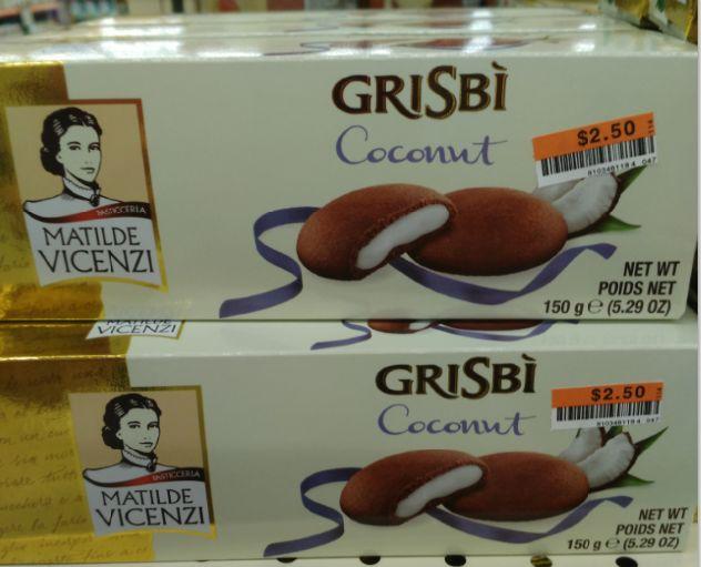Matilde Vicenzi Grisbi Coconut Cookies