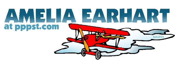 Amelia Earhart - FREE Presentations in PowerPoint format, Free Interactives and Games