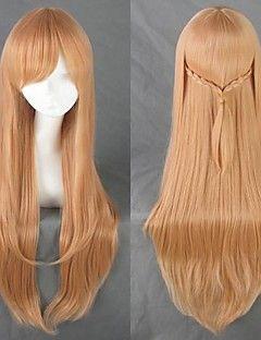 chihayafuru ayase Chihaya brun lang cosplay parykk – NOK kr. 350
