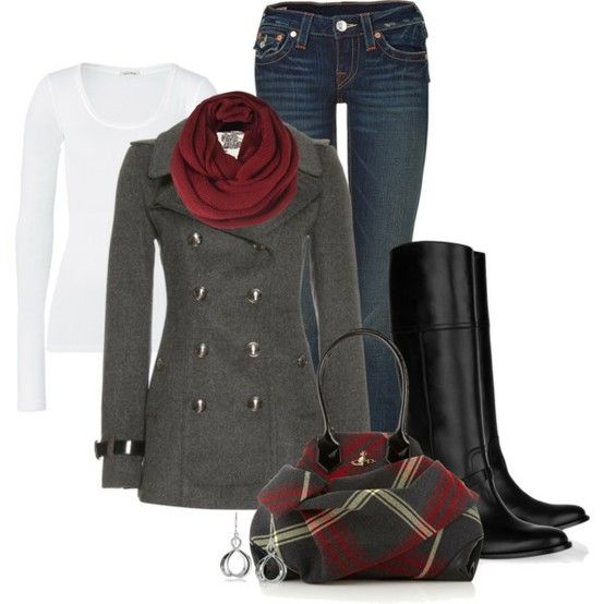 this is the perfect outside date outfit for fall or winter