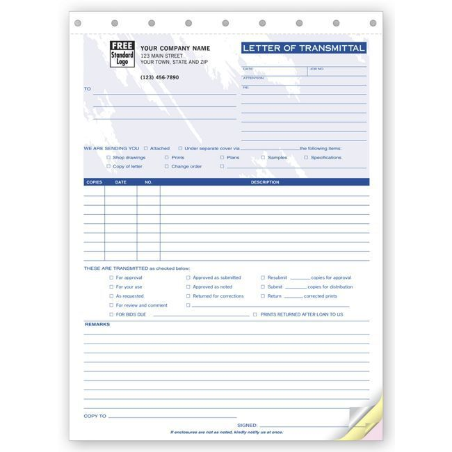 Transmittal Form Offering Transmittal Form B Units Use This Form To
