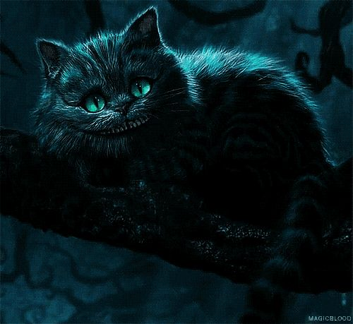 One of my favorite fantasy creatures, the Cheshire Cat.