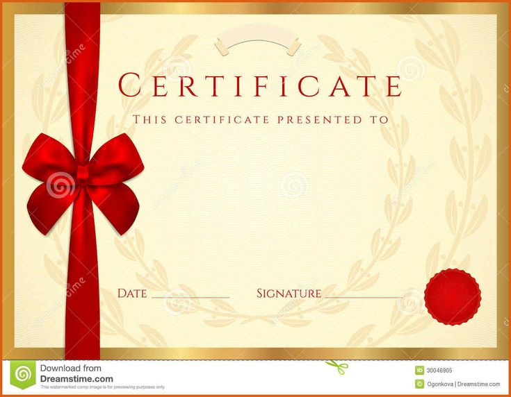 The 25 best free certificate templates ideas on pinterest certificate template free certificate completion template wax seal yelopaper Images