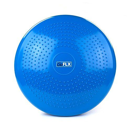 2 please! Working on my balance will help keep me from spraining my ankles.  Wobble Cushion, GoFLX8482; - Blue Inflatable Balance Air ...