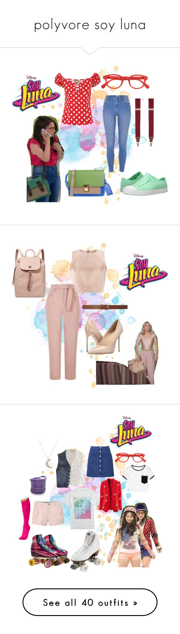 """""""polyvore soy luna"""" by maria-look on Polyvore featuring See Concept, Native Shoes, Saddlebred, Erika Cavallini Semi-Couture, River Island, plus size clothing, Jacques Vert, Tory Burch, Topshop and Dorothy Perkins"""