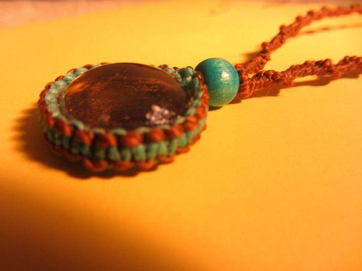 Macrame necklace/Collar de macrame