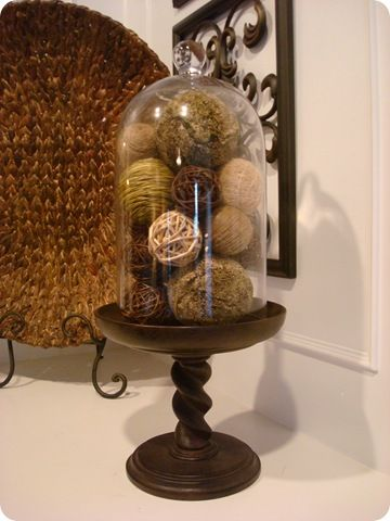 I love the way this adds height. And you can personalize it for each season/holiday!