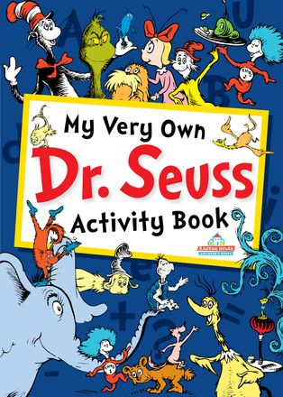 Free Worksheets: My Very Own Dr. Seuss Activity Book- click on it.