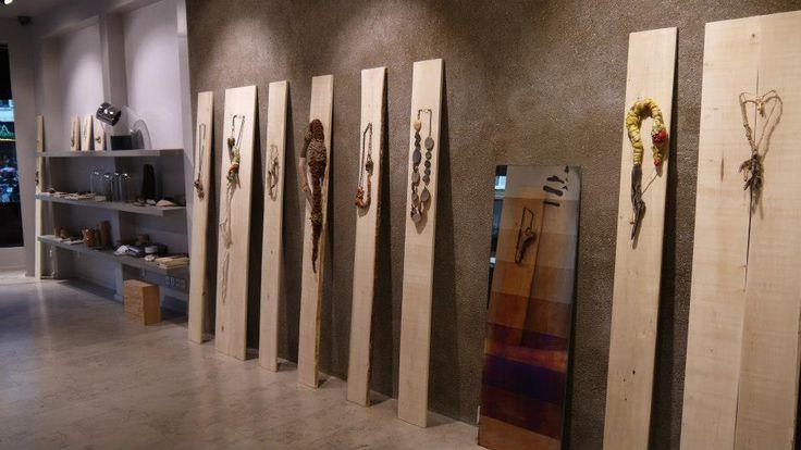 gabriela horvat Beautiful way to display art jewelry