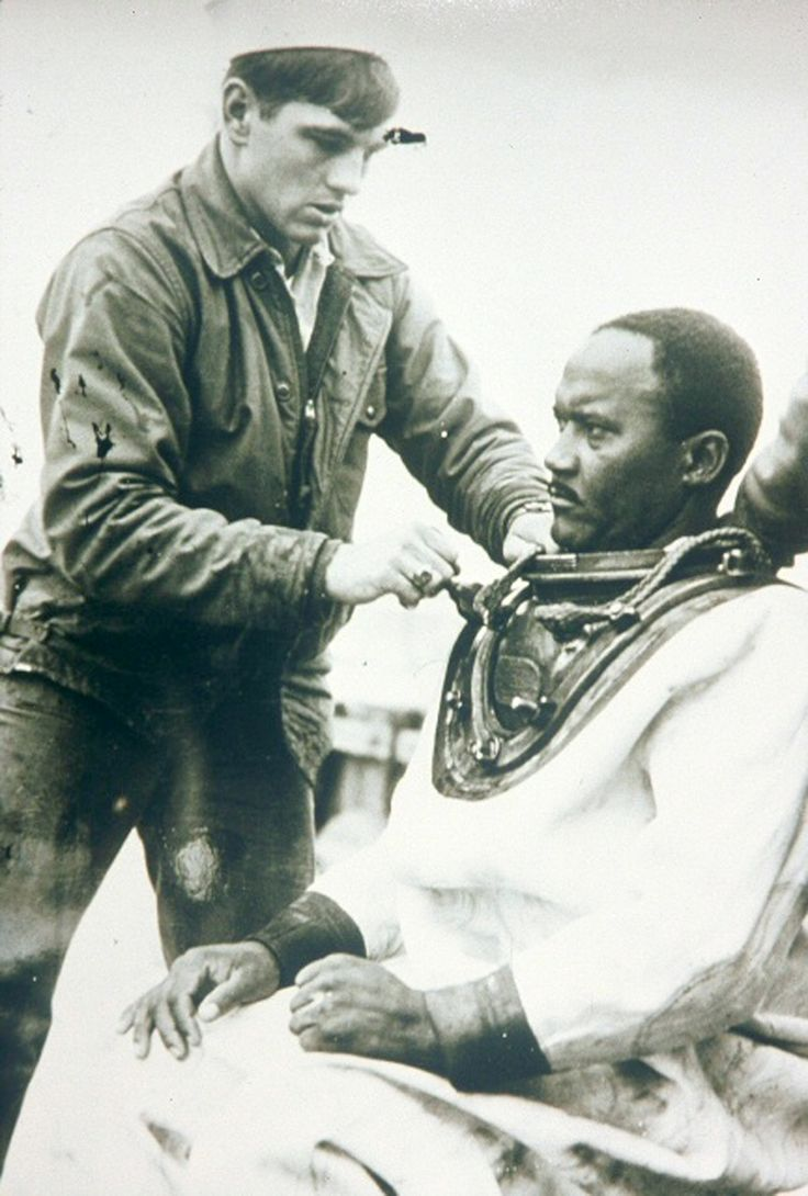 ... Carl Brashear African American to be certified as a U. S. Navy master diver in 1970
